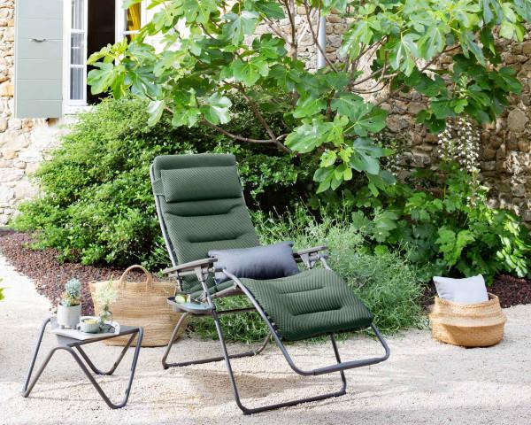 Lafuma Liegestuhl Futura Be Comfort® Olive - bowi.ch