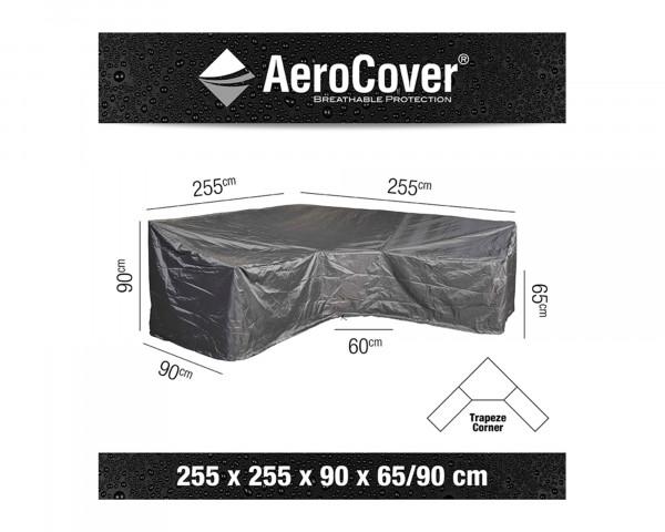 Schutzhülle Gartenmöbel AeroCover® Lounge trapezförmig 255 x 255 x 90 x H 65 / 90 cm - bowi.ch