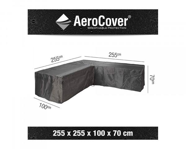 Schutzhülle Gartenmöbel AeroCover® Lounge L Form 255 x 255 x 100 x H 70 cm - bowi.ch