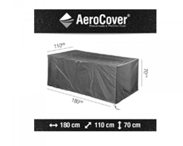 Abdeckung für Tisch AeroCover 180 cm Anthrazit Schutzhülle BOWI - bowi.ch