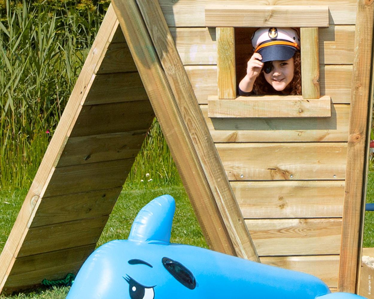 anbaumodul boat jungle gym f r den privatgarten. Black Bedroom Furniture Sets. Home Design Ideas