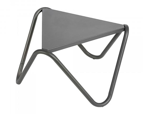 Lafuma Beistelltisch Vogue in der Gestell Farbe Basalt und Tischplatten Farbe in Basalt freigestellt - bowi.ch