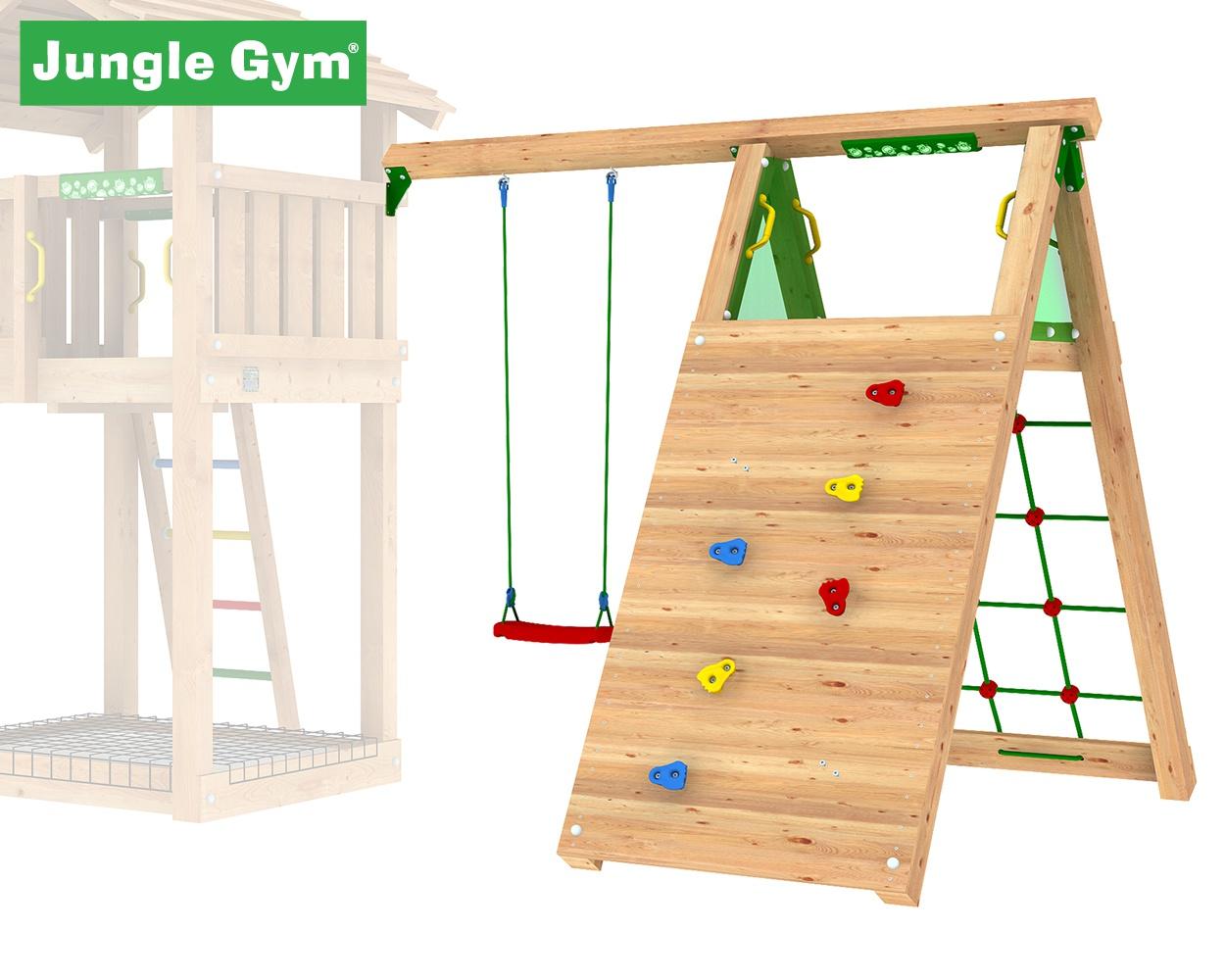 climb modul jungle gym zum klettern und schaukeln im. Black Bedroom Furniture Sets. Home Design Ideas