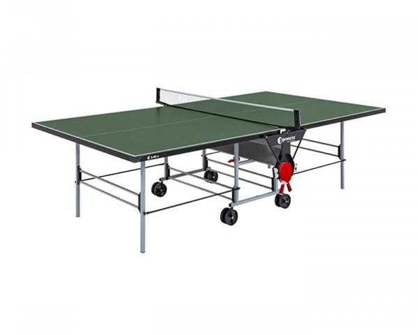 Tischtennistisch Grün in Spielposition - bowi.ch