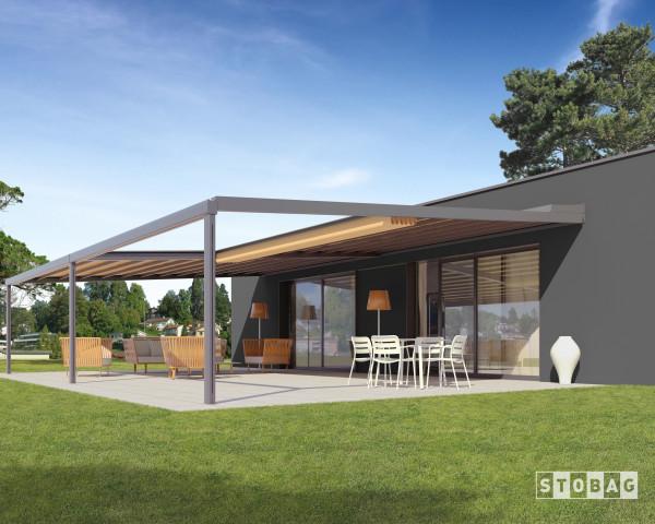 Terrassen Markisen Überdachung Rivera P5000 - bowi.ch