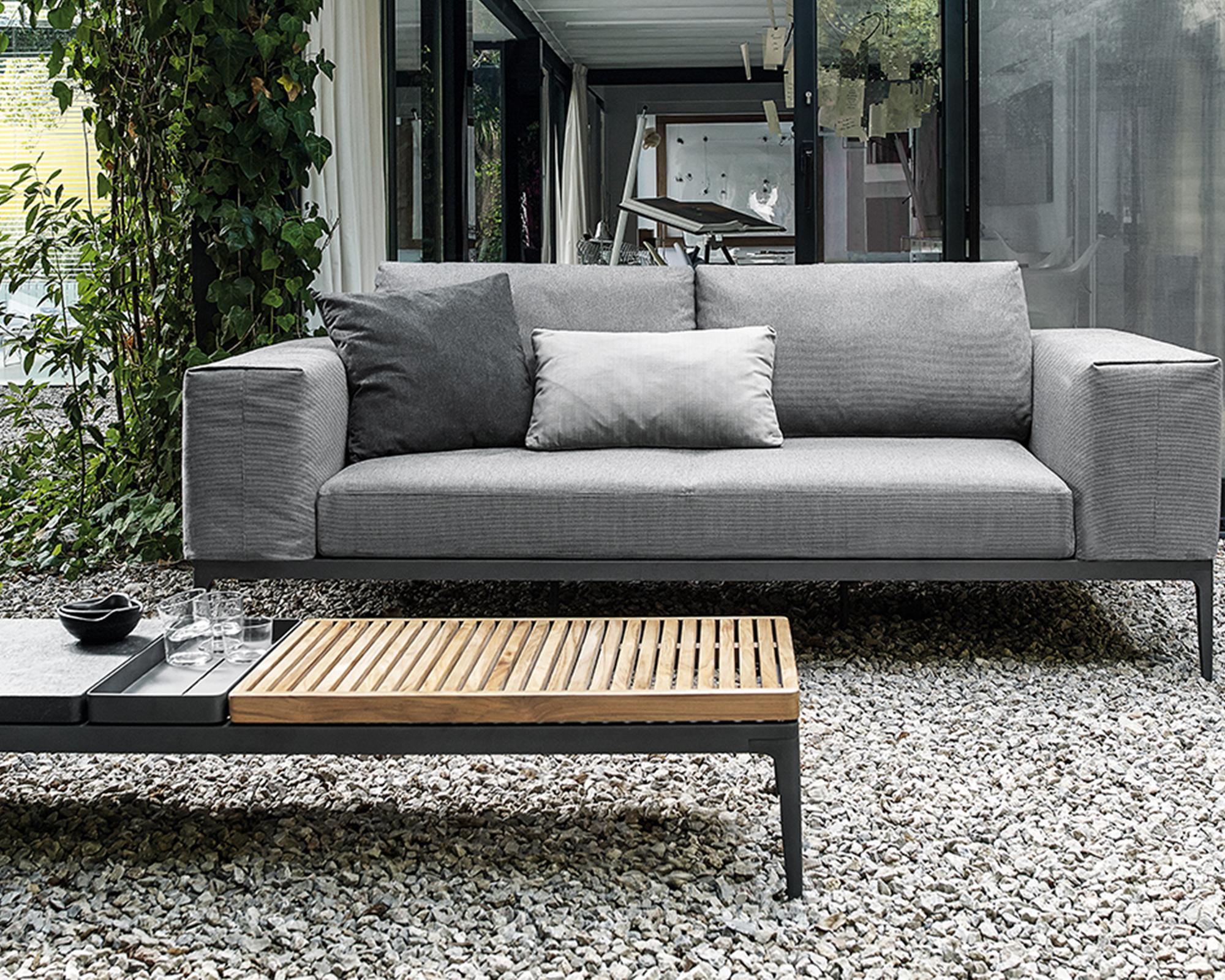 garten lounge sofa klein grid meteor online ausstellung. Black Bedroom Furniture Sets. Home Design Ideas