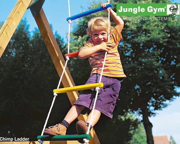 Kunststoffstrickleiter Jungle Gym - bowi.ch