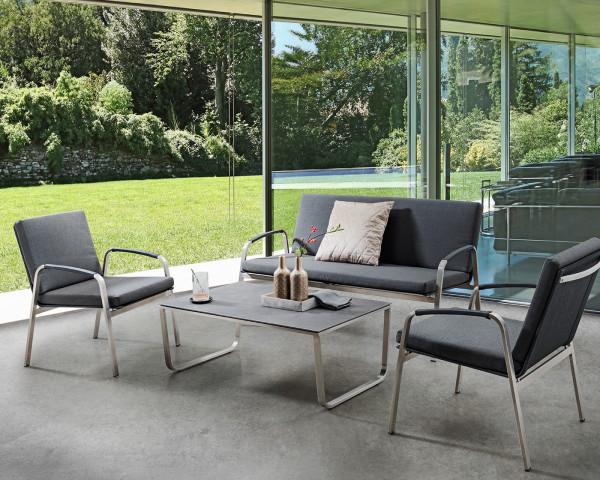 Garten Lounge Set Santa Fe Black - bowi.ch