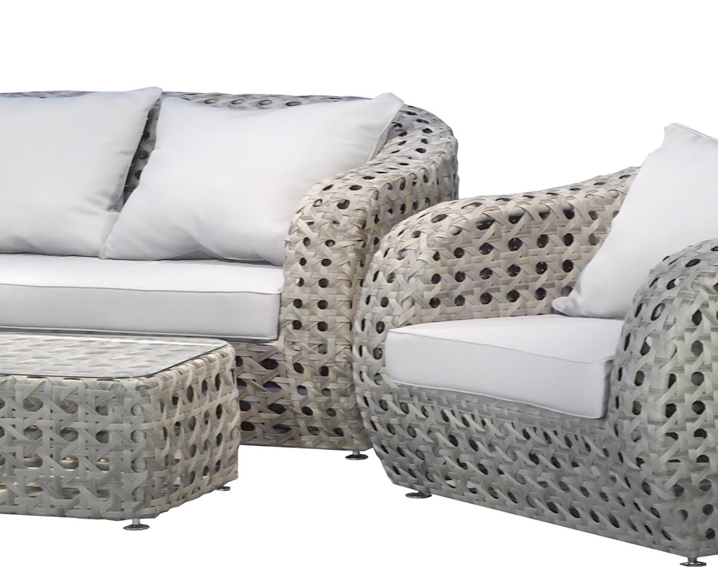 garten lounge miami 3er sofa. Black Bedroom Furniture Sets. Home Design Ideas