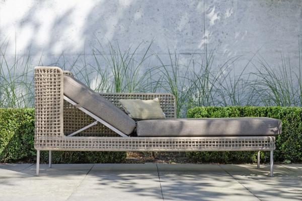 Garten Lounge Greta Liege Champagner - bowi.ch
