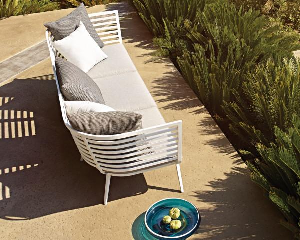Prächtig Garten Lounge VISTA Bank Weiss Online & Ausstellung | bowi.ch &JX_54