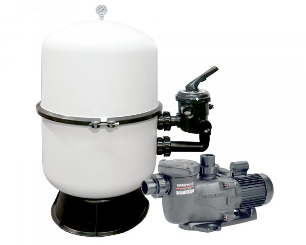 Pool Filteranlage Deluxe DUO-MaxFlo 500 - bowi.ch