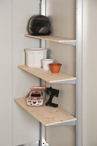 Tablar für Gerätehaus oder Geräteschrank - bowi.ch