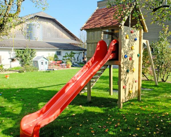 Spielturmkombination Robinson mit Schaukel 2-teilig - bowi.ch
