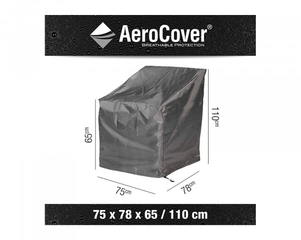 Schutzhülle Gartenmöbel AeroCover® Lounge Sessel 75 x 78 x 65 / 110 cm - bowi.ch