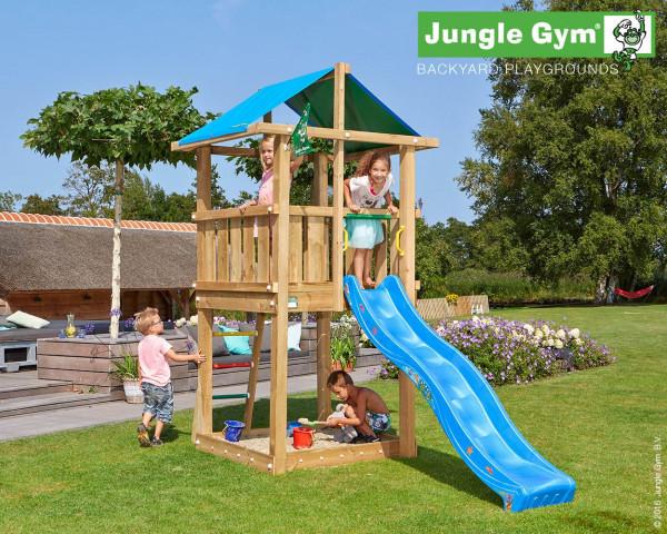 Spielturm Hut Jungle Gym mit Rutschbahn und Sprossenleiter - bowi.ch