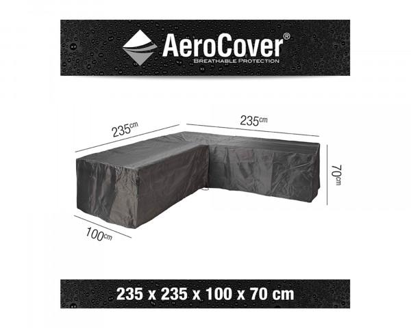 Schutzhülle Gartenmöbel AeroCover® Lounge L Form 235 x 235 x 100 x H 70 cm - bowi.ch