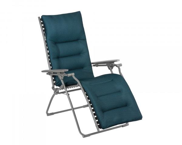 Lafuma Liegestuhl Evolution Be Comfort® freigestellt in der Farbe Bleu Encre - bowi.ch