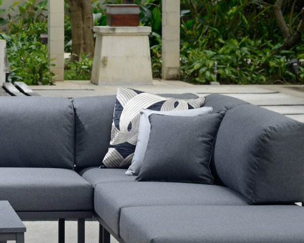Garten Lounge Urbain Eckteil Anthrazit - bowi.ch