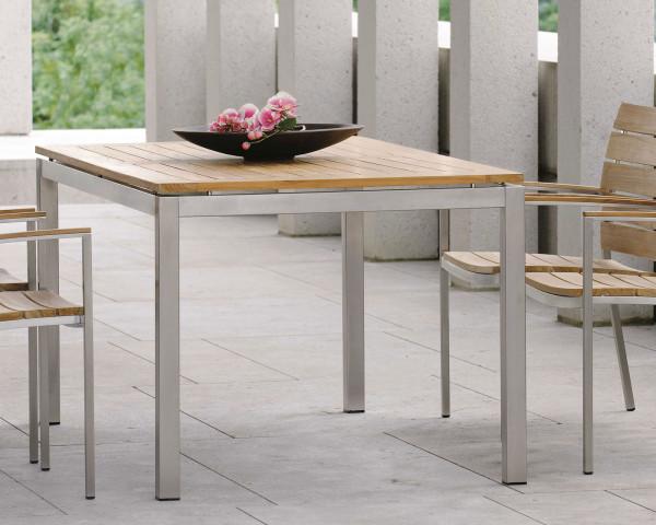 Gartentisch Allround Teakholz FSC zerifiert in 6 Grössen - bowi.ch