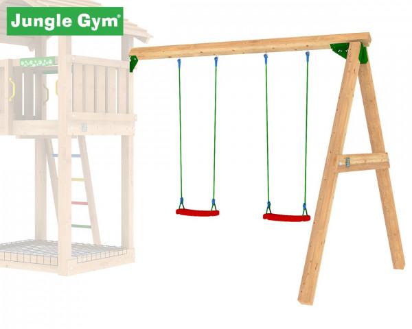 Swing Modul 2-teilig Jungle Gym inkl. zwei Schaukelsitze - bowi.ch