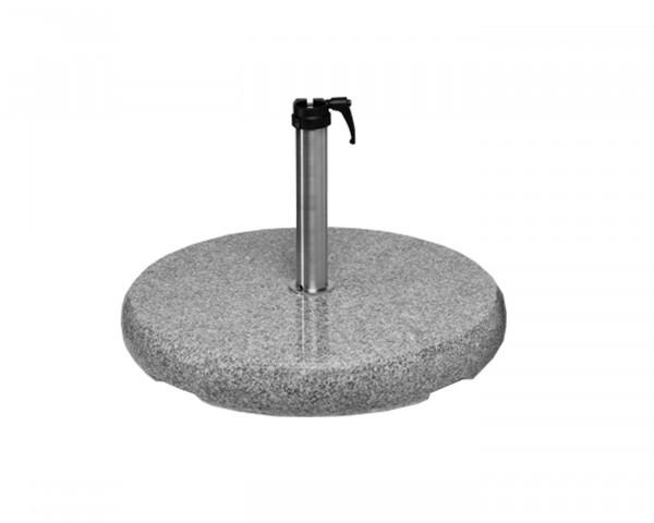 Granitsockel 40 kg für Sonneschirm Glatz Alu-Samrt Alu-Twist Sonnenschutz BOWI - bowi.ch