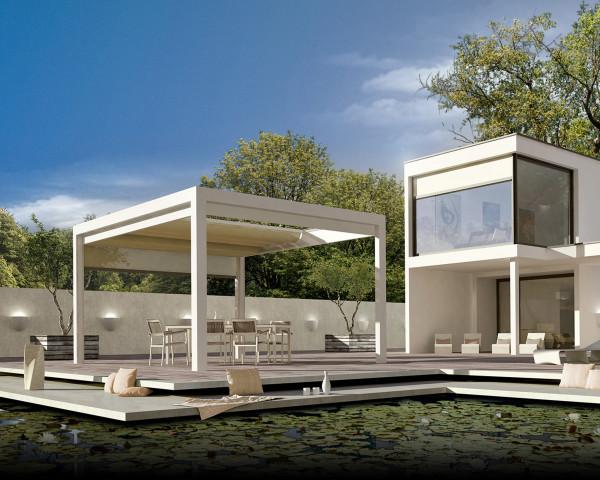 Terrassen Pavillon Melano TP7100 - bowi.ch