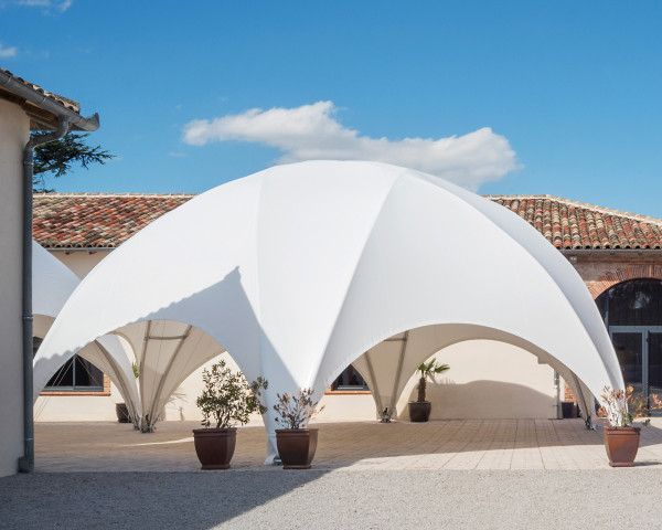 grosses Eventzelt Hexadome Creative Structures - bowi.ch