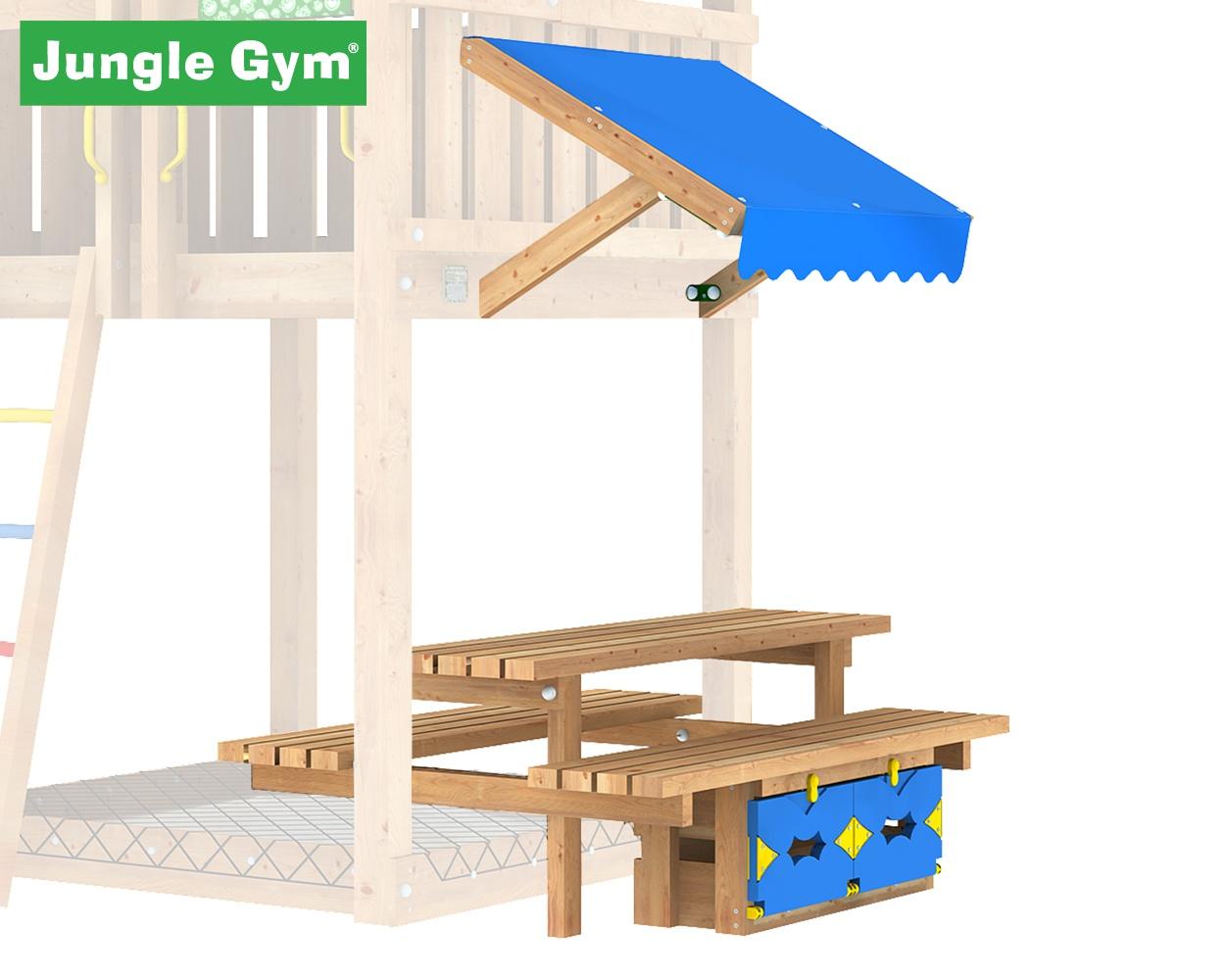 pic nic modul jungle gym f r den privatgarten. Black Bedroom Furniture Sets. Home Design Ideas