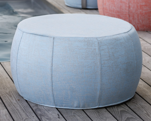 Lounge Hocker Sitzsack Outdoor Koralle - bowi.ch
