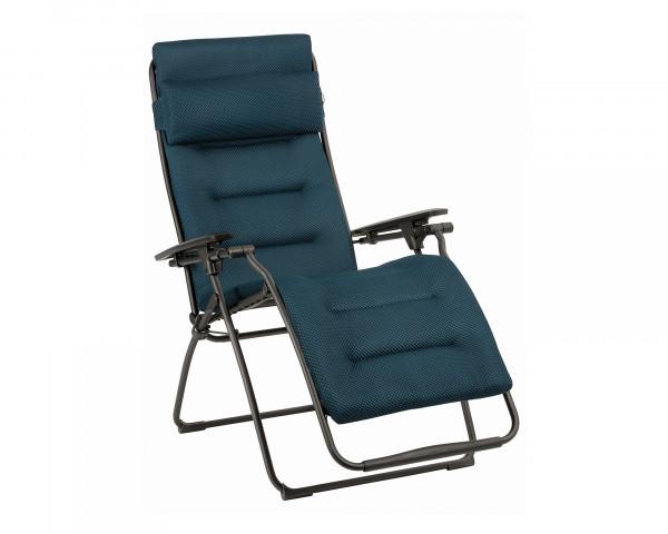 Lafuma Liegestuhl Futura Be Comfort® freigestellt in der Farbe Bleu Encre - bowi.ch