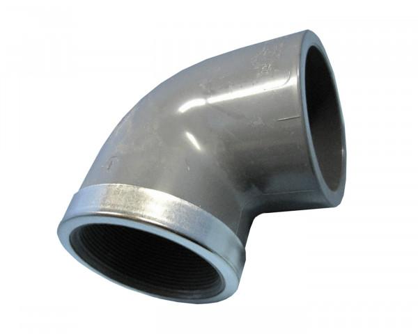 PVC Winkel 90° mit Innengewinde - bowi.ch