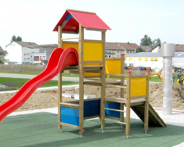 Spielturm Pino mit 3 Podeshöhen - bowi.ch