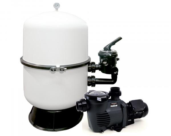Pool Filteranlage Deluxe DUO-K-Flo 400 - bowi.ch