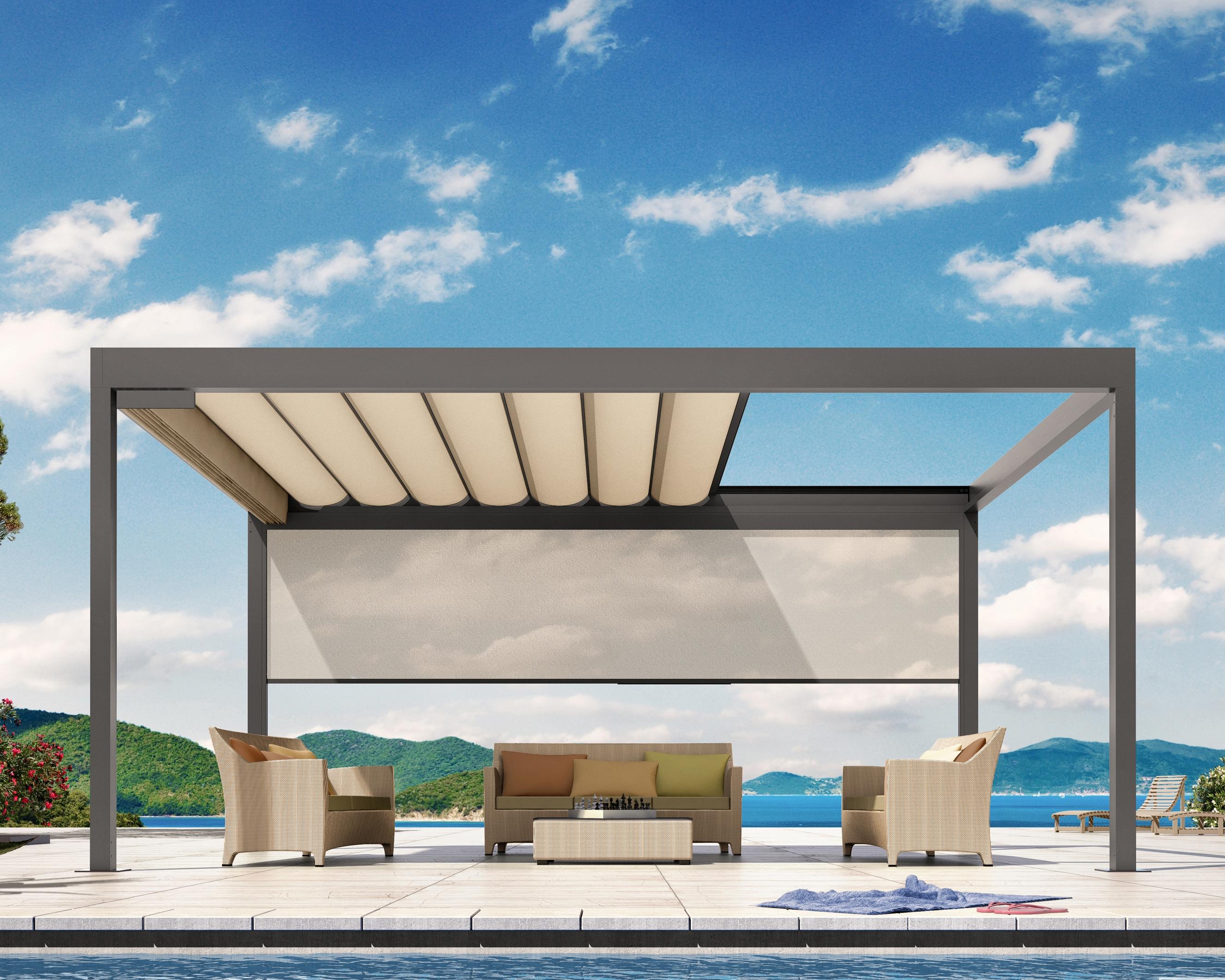 Gut gemocht Faltdach Gartenpavillon - Bavona TP6100 | bowi.ch DE51