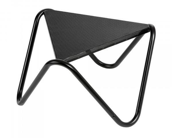 Lafuma Beistelltisch Vogue Privileg in der Farbe Noir perforiert als freigestelltes Bild - bowi.ch