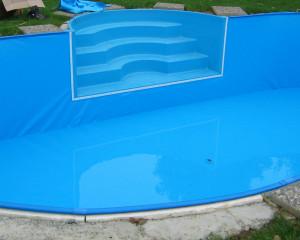 Poolfolie & Pool Einbauteile