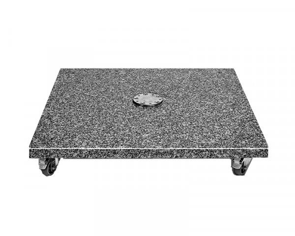 Granitsockel mit Rollen 120kg für Sonneschirm Glatz BOW - bowi.ch