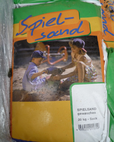 Spielsand Sack Verpackung - bowi.ch