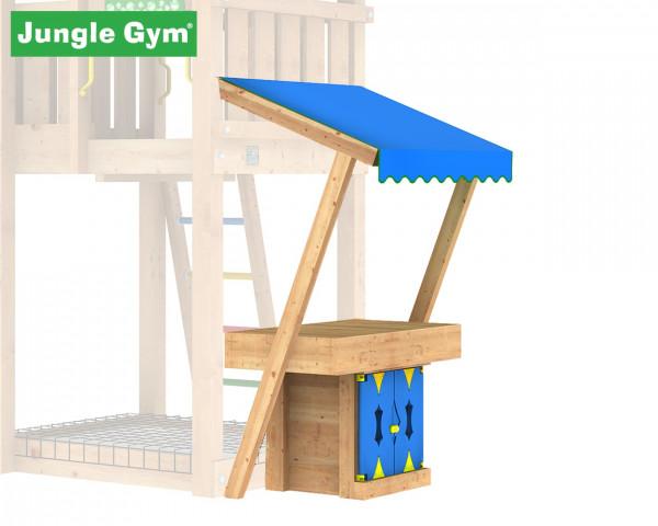 Mini Market Modul Jungle Gym mit Planendach,Verkaufstisch und Schrank - bowi.ch