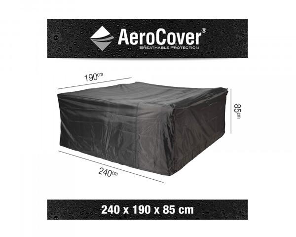 Schutzhülle für Esstischgruppe 240 cm AeroCover BOWI - bowi.ch