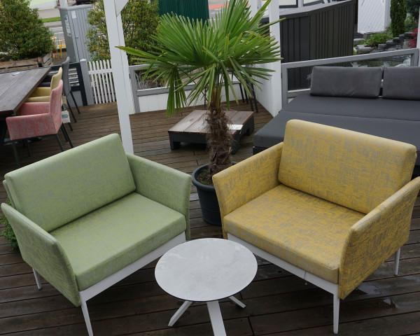 Garten Lounge Ildigo Sessel Stern® Möbel Farngrün und Gelb - bowi.ch