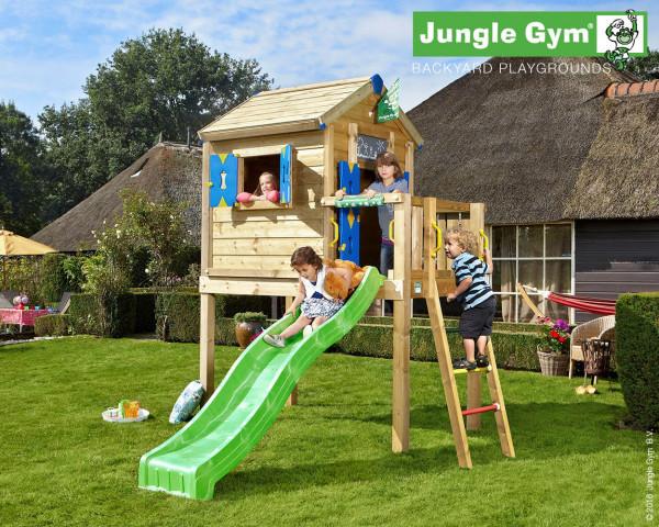 Playhouse Frame L Jungle Gym mit Rutschbahn - bowi.ch