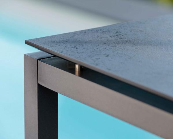 Gartenbar Tisch Allround HPL Taupe - bowi.ch