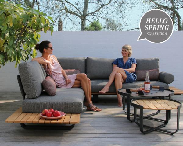Garten Lounge Park L- Form mit Beistelltisch Fly - bowi.ch