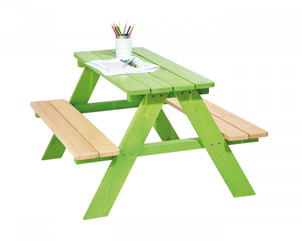 Kinder Tisch Niki grün - bowi.ch