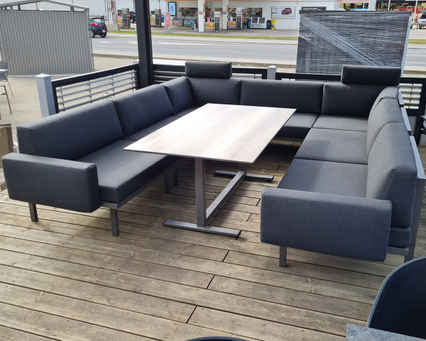 Garten Lounge Sylt Set Dining Carbon - bowi.ch