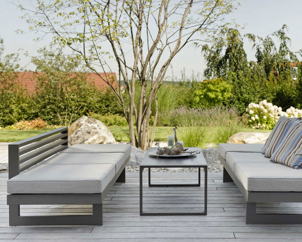 Garten Lounge Holly Taupe - bowi.ch