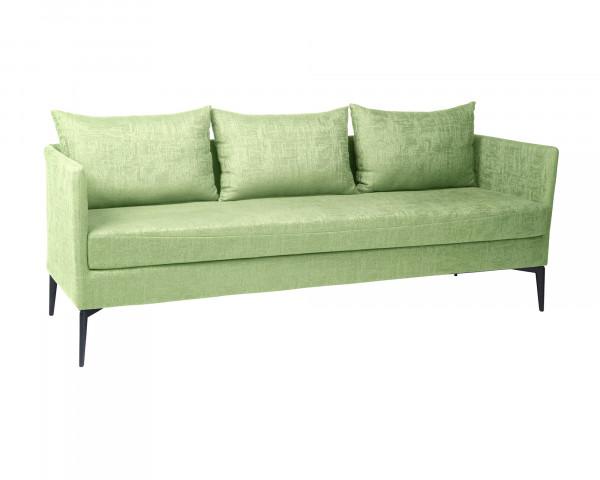 Garten Lounge 3er Sofa, Bank Marta Frangrün Outdoorstoff - bowi.ch