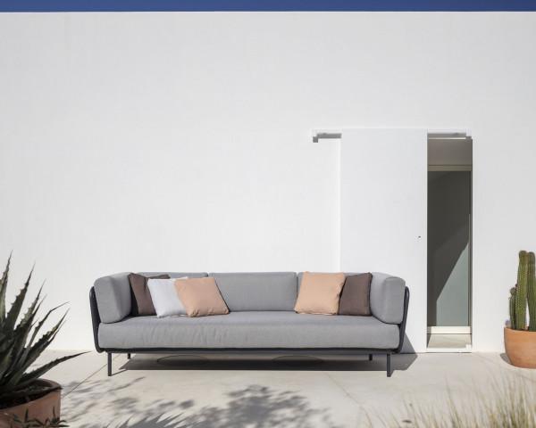 Garten Lounge 3er Sofa Baza - bowi.ch